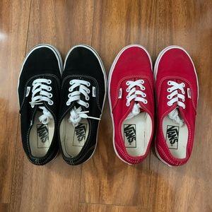 Vans Authentic Skate Shoes Bundle